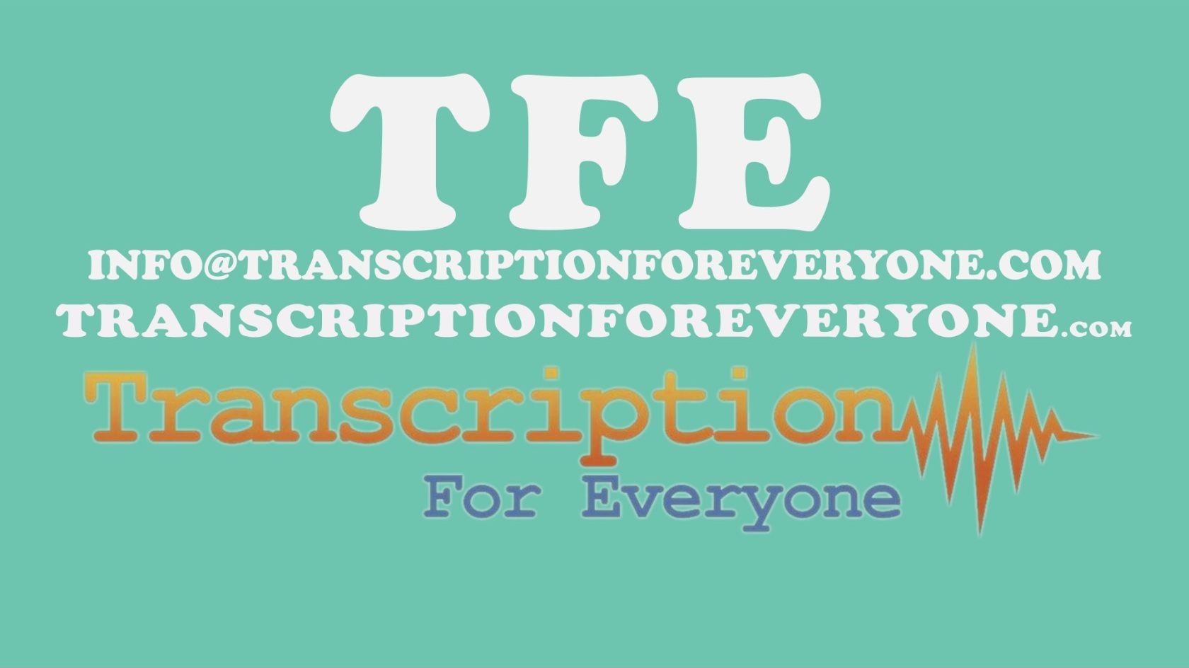 Employment Opportunities - Transcription For Everyone